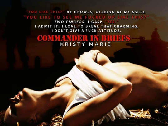 Image result for Commander in Briefs by Kristy Marie